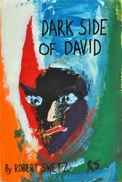 Dark Side of David Painting by Robert Swetz All Rights Reserved